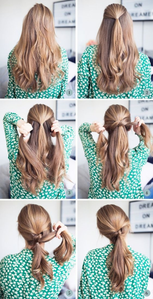 Quick-and-Simple-Girls-Hairstyles-for-School