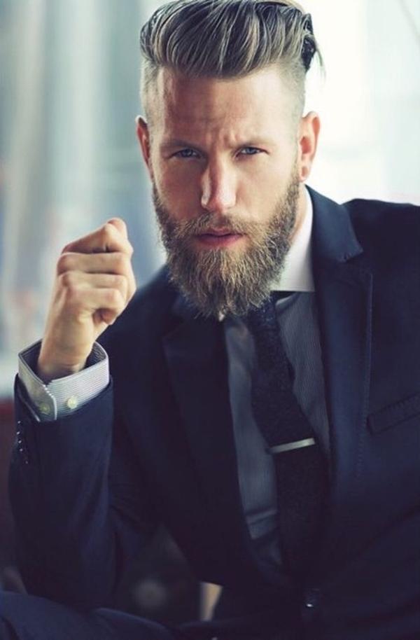 Thick, Full Ducktail Beard