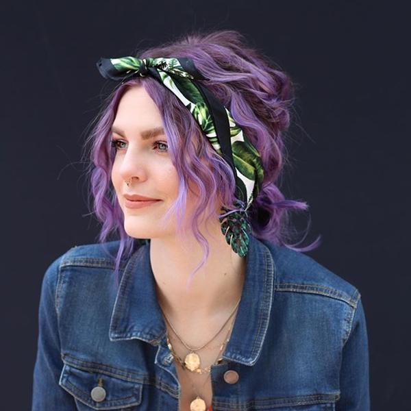 purple-highlights-in-brown-hair