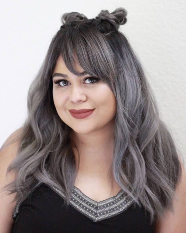 Hairstyles for Round Chubby Face