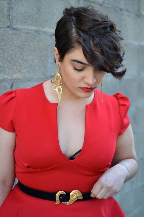 35 Hairstyles for Overweight Women