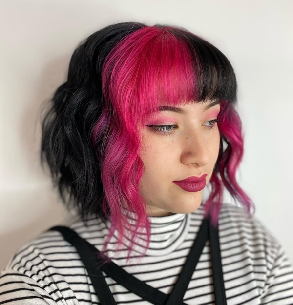 40 E-Girl Hairstyles That Are Trending On Tiktok And Instagram!