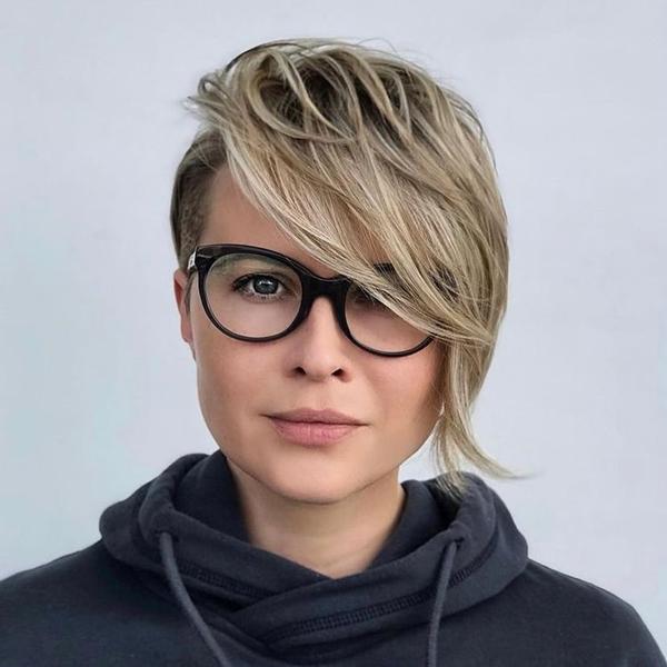 Long pixie Haircut for Women